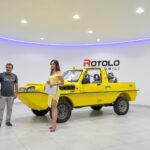 6inAUTO e ROTOLO AUTOMOBILI presentano DUTTON SURF 4×4 ANFIBIO
